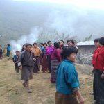 ブータン東部チモン村の人々