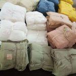 アーユルヴェーダ染め手織り布「衣生活」展