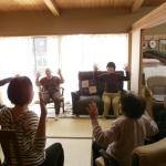 「還る家ともに」でヨガ教室を開催しました!