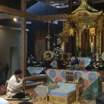 300年前の竹の音色が本堂に響きました