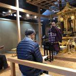 東日本大震災追悼法要・3月の定例法話会を勤修しました